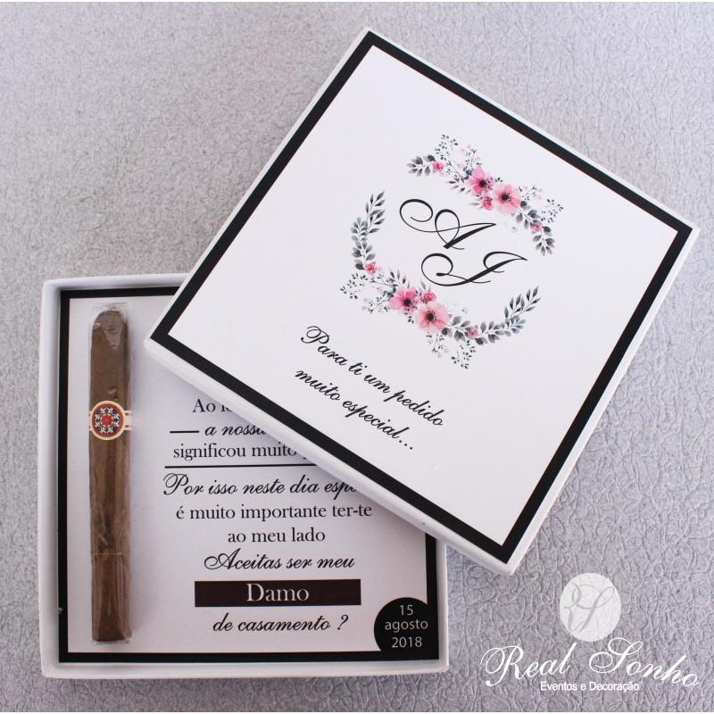 Convite de casamento CS-C043