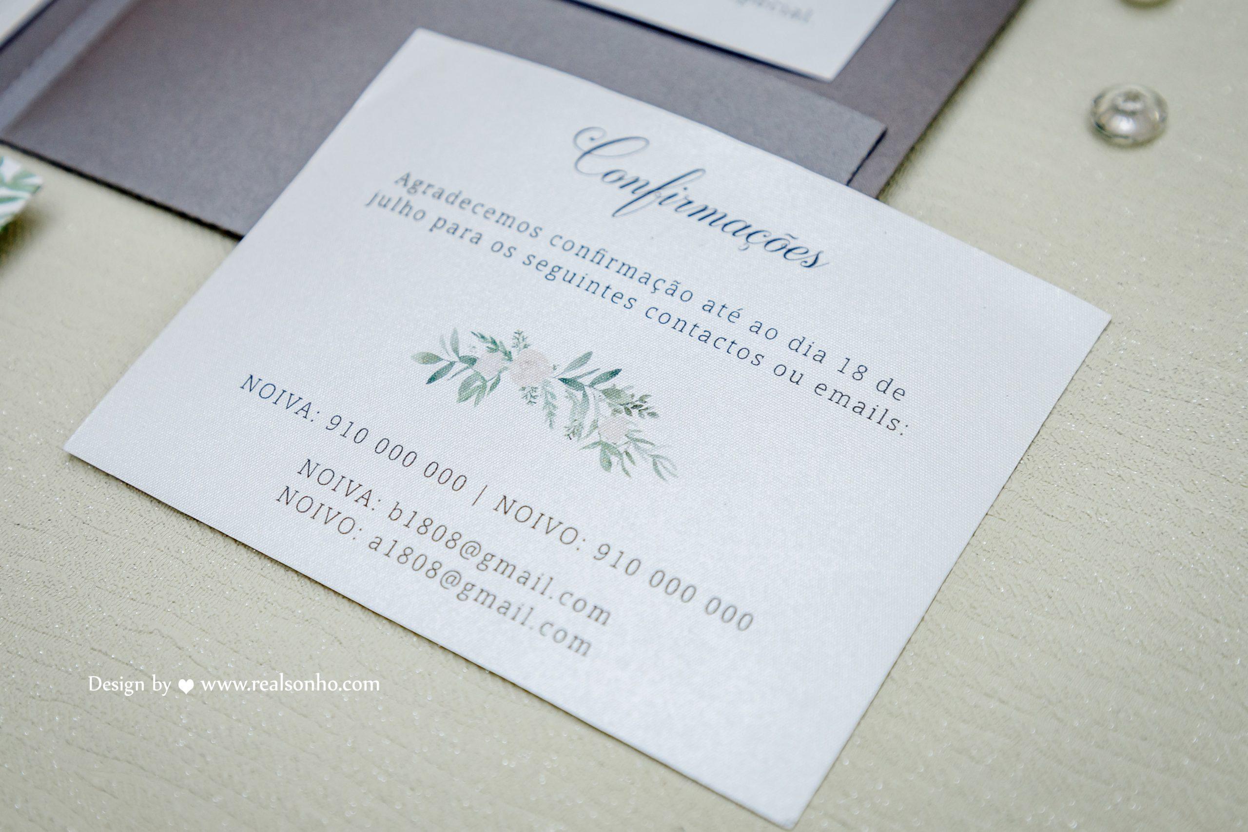 Convite Casamento CS-C059