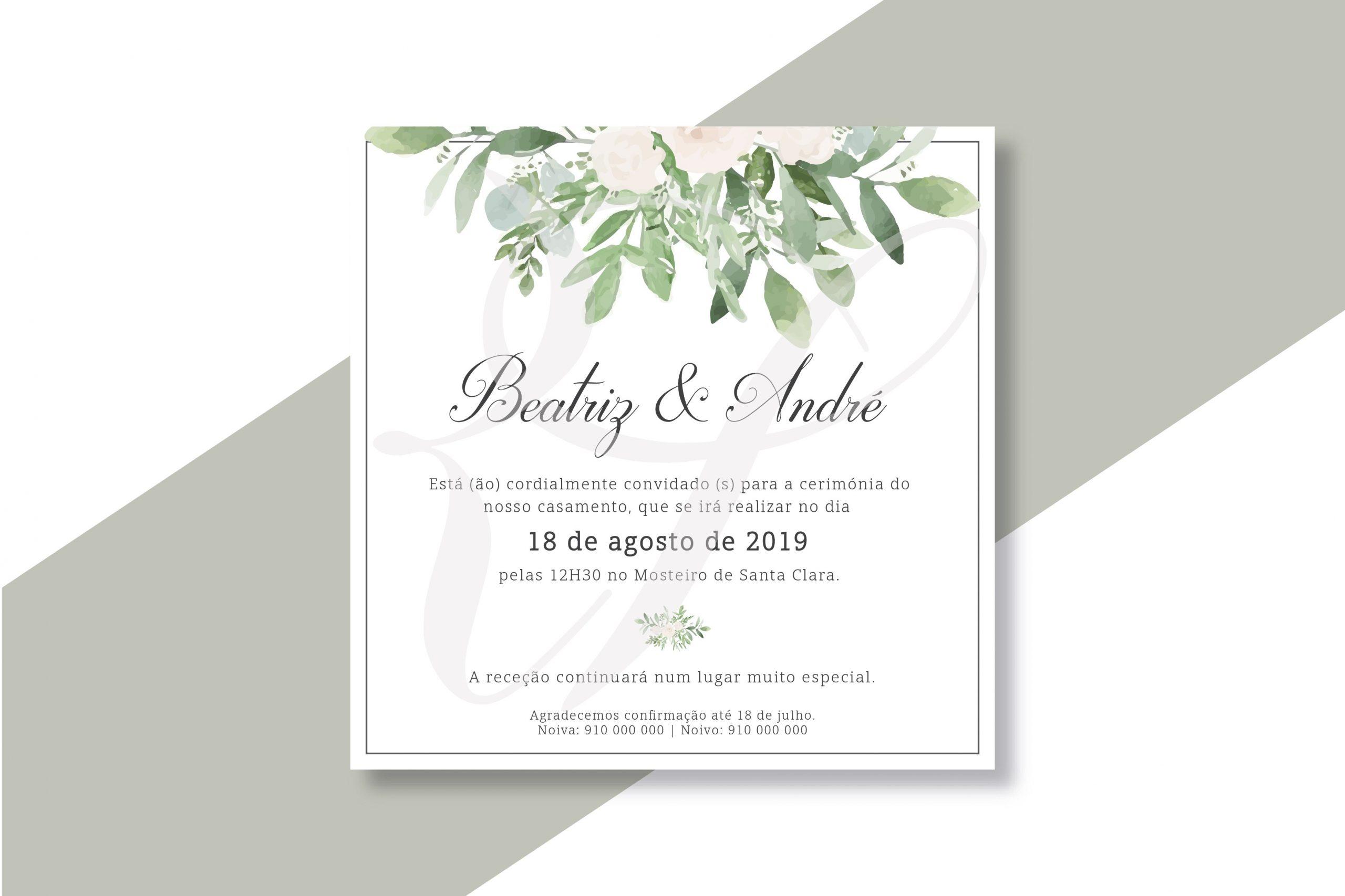 Convite CS-C057