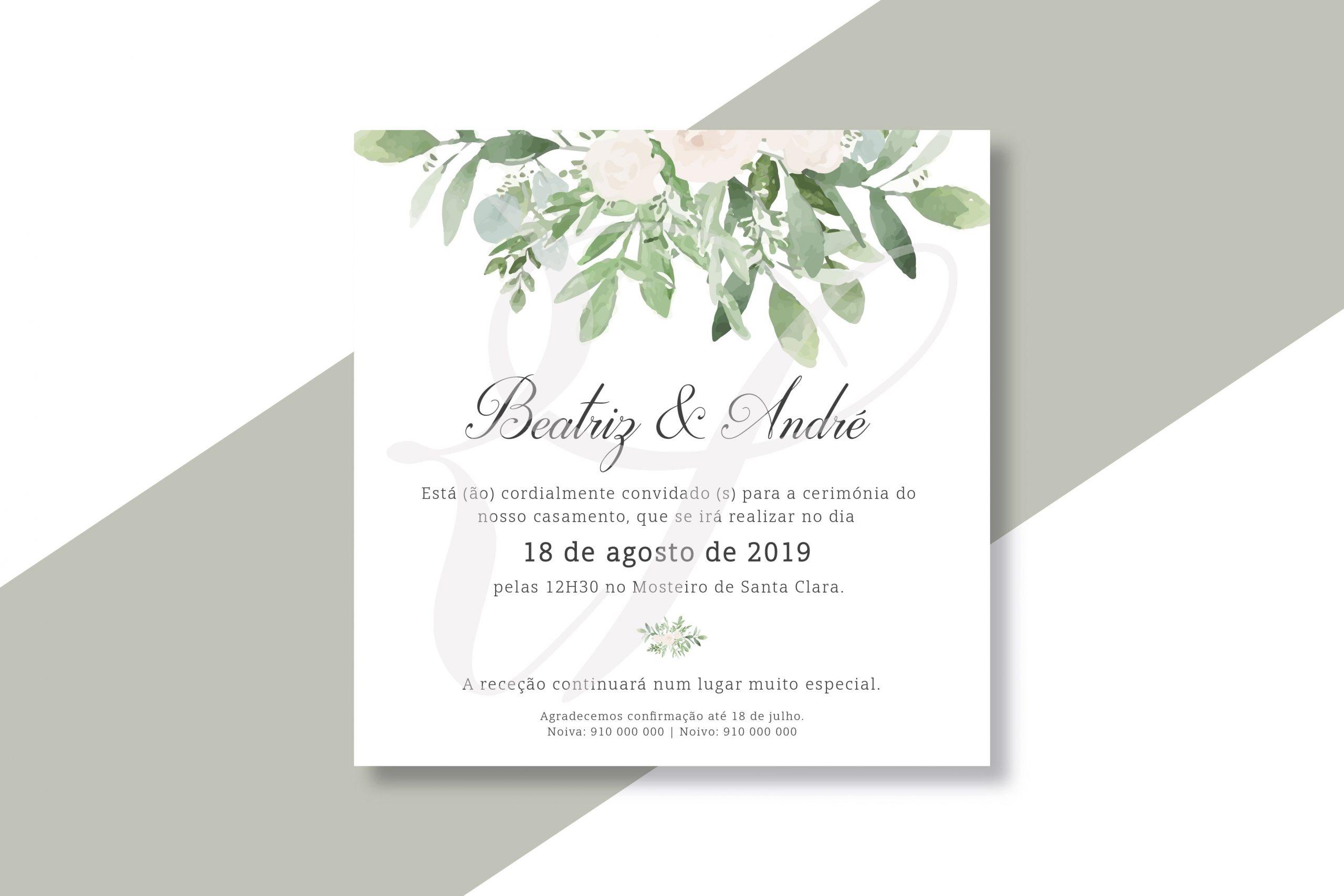 Convite Casamento CS_C060