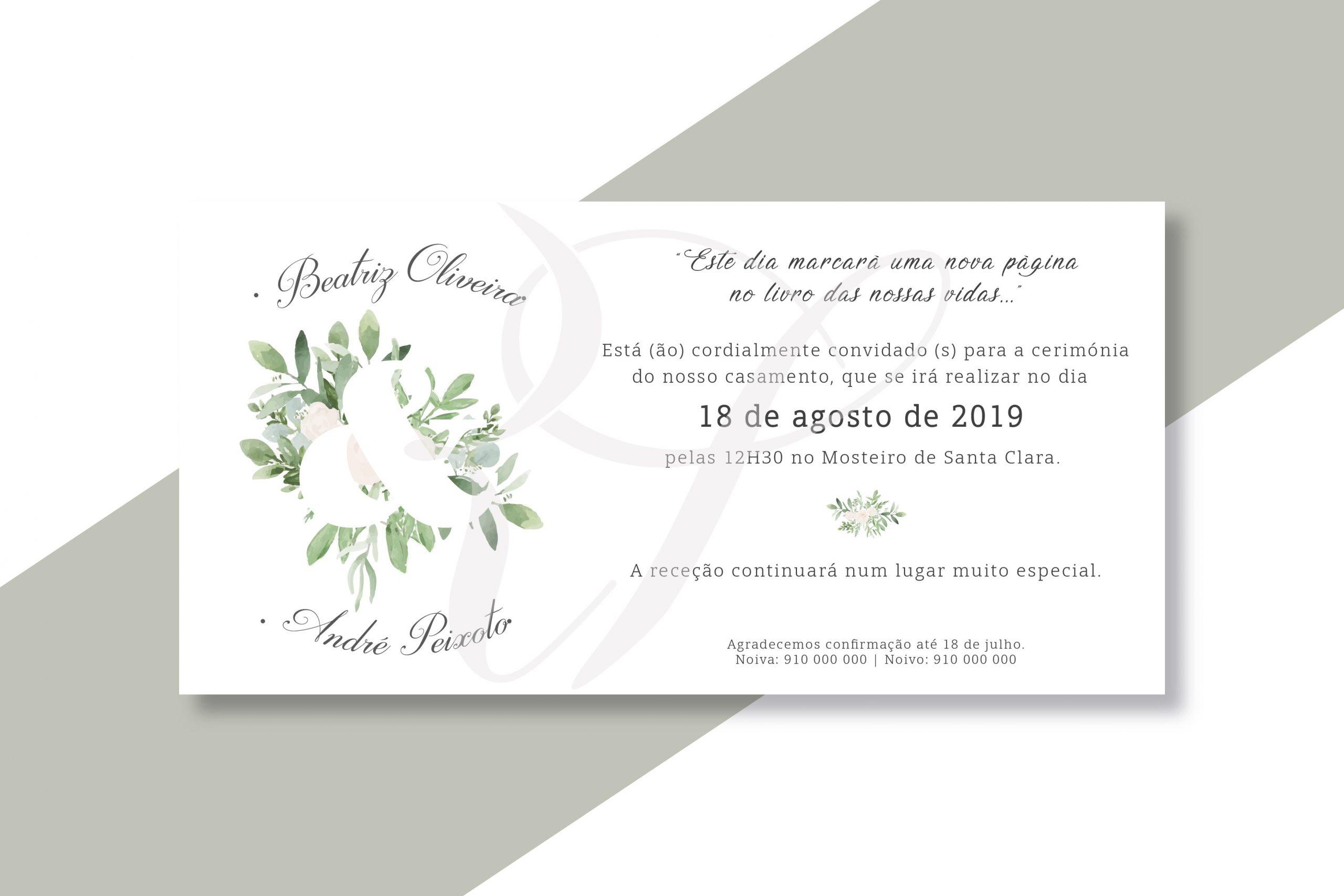 Convite CS-C058