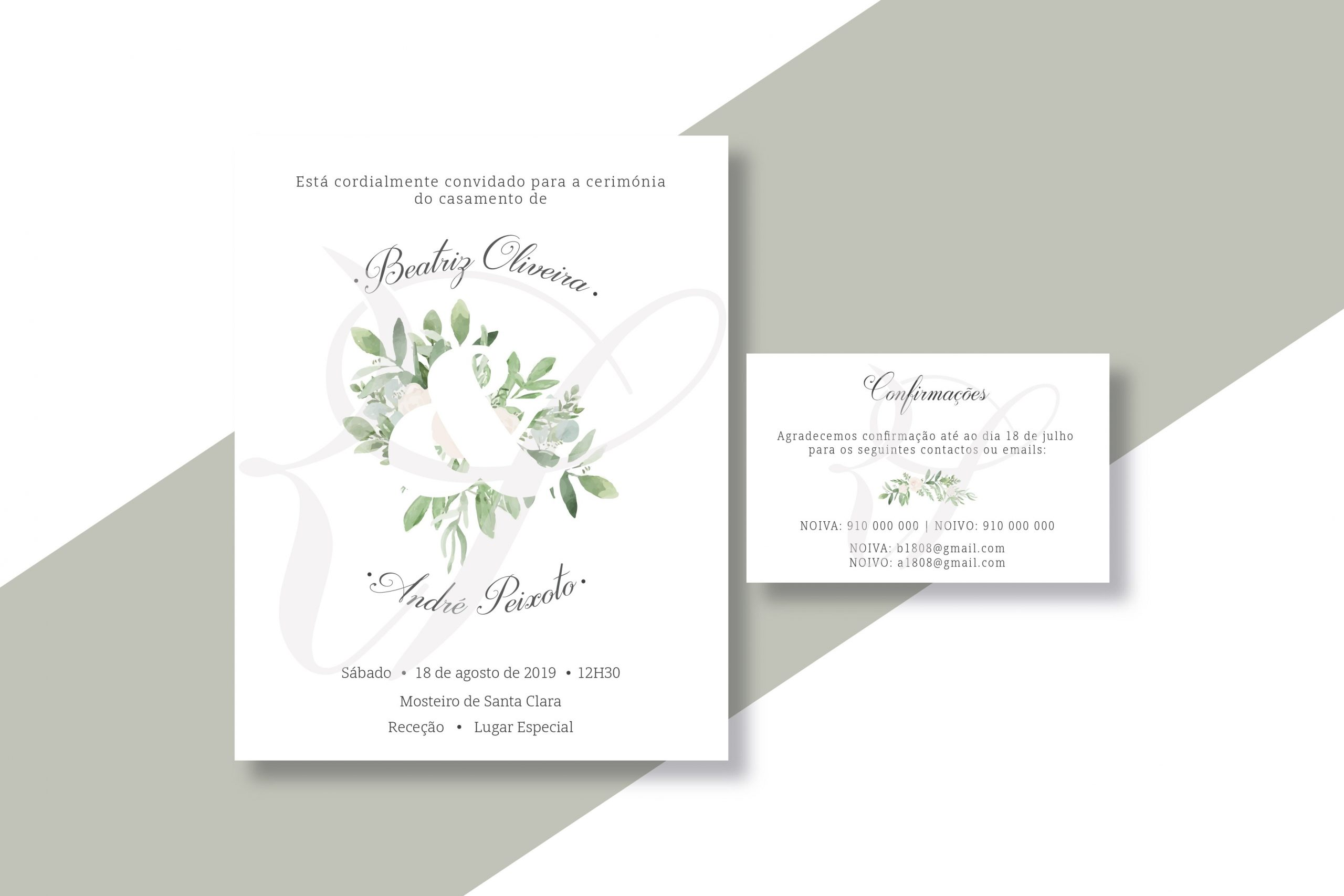 Convite Casamento CS-C061