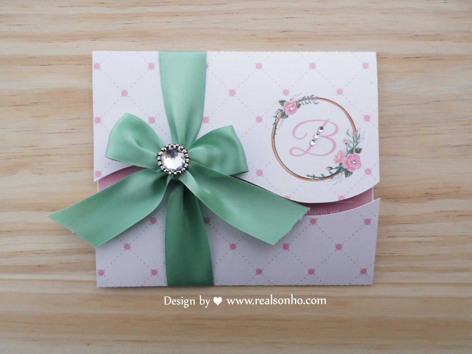 Convite de Comunhão (menina) CM-C029